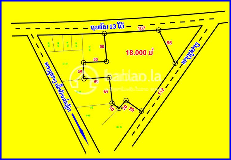 residential Land/Development for sale in ບ້ານບໍ່ເຫຼັກ ID 2800 1